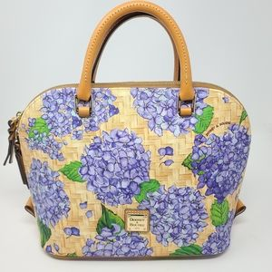 Dooney & Bourke NEW Basketweave Satchel Purse
